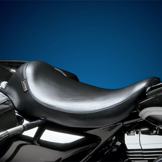 LE PERA SILHOUETTE SOLO SMOOTH SEAT HARLEY FLHT-FLTR 99-01