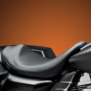 SELLA LE PERA VILLAIN SOLO SMOOTH SEAT HARLEY TOURING 08-19