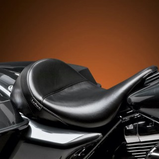 LE PERA AVIATOR SMOOTH SOLO SEAT HARLEY TOURING 08-19