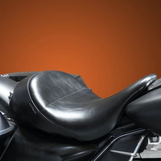 SELLA LE PERA AVIATOR SMOOTH UP FRONT SOLO SEAT HARLEY TOURING 08-21