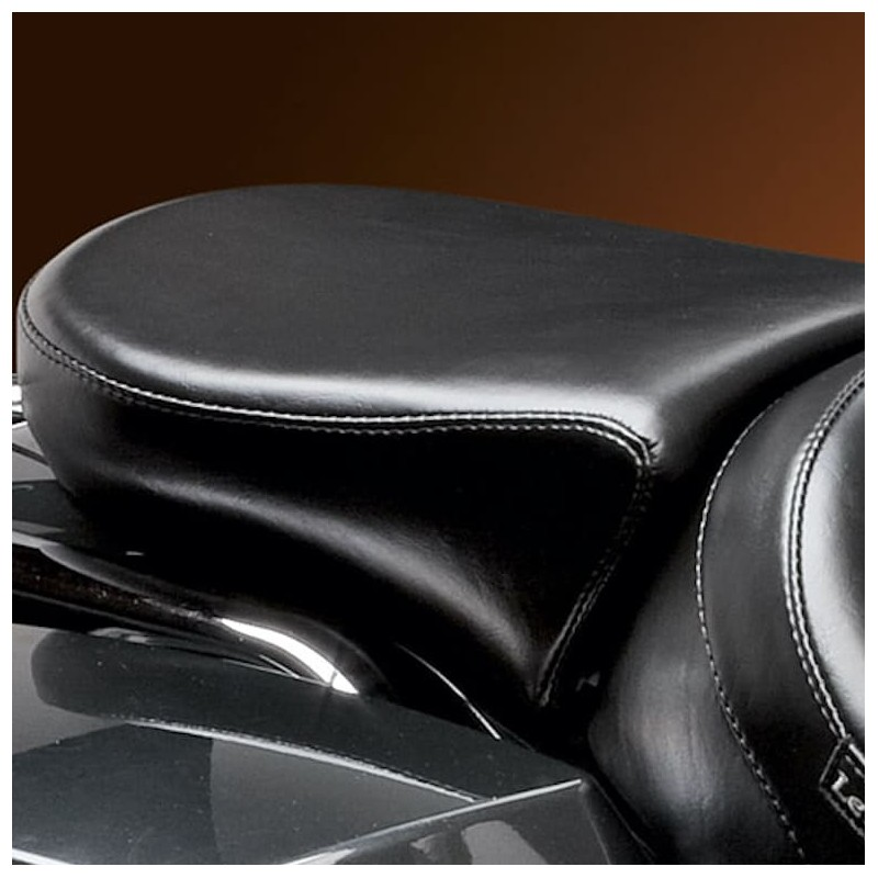 LE PERA BARE BONES SMOOTH PILLION WIDE PAD HARLEY TOURING 08-21