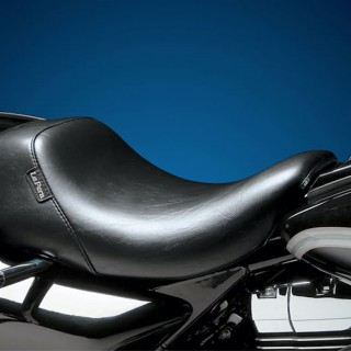 LE PERA BARE BONES SMOOTH UP FRONT SEAT HARLEY TOURING 08-21