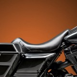 LE PERA BARE BONES SMOOTH SEAT HARLEY TOURING 02-07 WITH PYO/BAGGER NATION GAS TANK - SIDE
