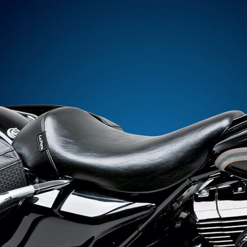SELLA LE PERA BARE BONES SMOOTH SEAT HARLEY ROAD KING 97-01
