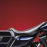 SELLA LE PERA BARE BONES SMOOTH SEAT HARLEY ELECTRA GLIDE 02-07 - LATO