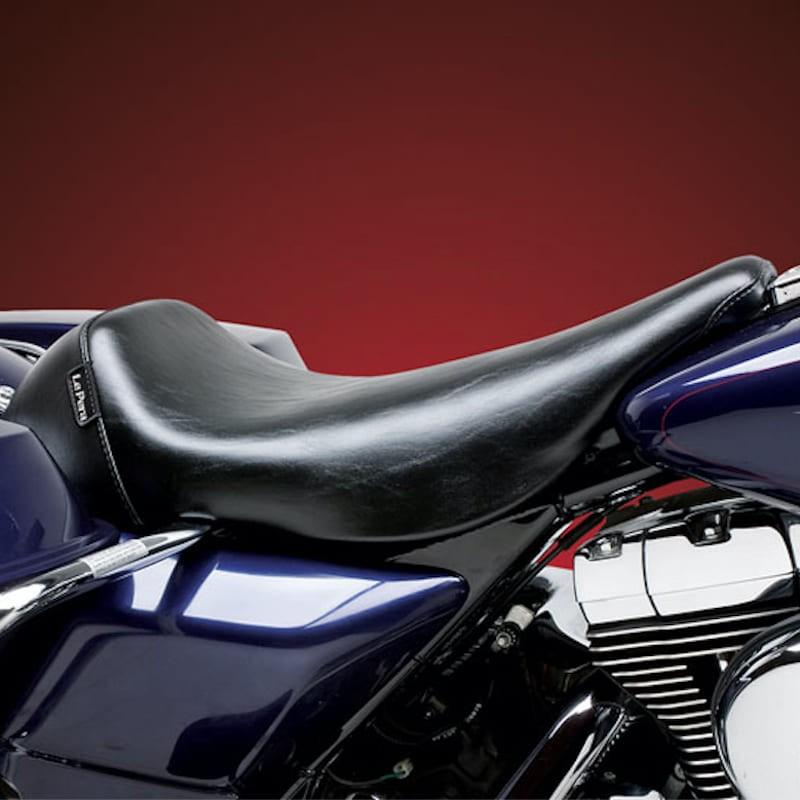 LE PERA BARE BONES SMOOTH SEAT HARLEY ELECTRA GLIDE 97-01