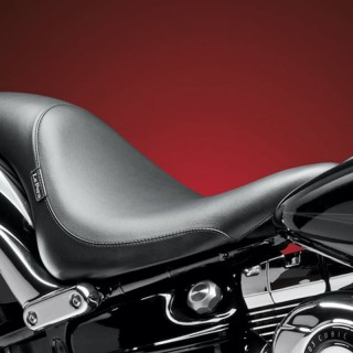 SELLA LE PERA SILHOUETTE SMOOTH SEAT HARLEY SOFTAIL FXSB 13-17