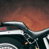 SELLA LE PERA SILHOUETTE SMOOTH FULL LENGTH GEL SEAT HARLEY SOFTAIL 00-17 - LATO