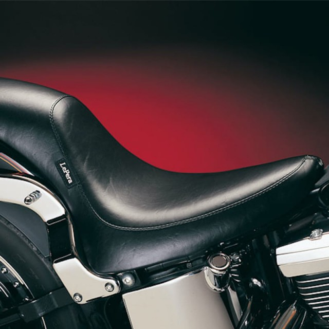 SELLA LE PERA SILHOUETTE SMOOTH FULL LENGTH GEL SEAT HARLEY SOFTAIL 00-17