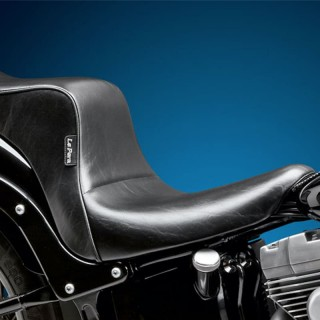 SELLA LE PERA CHEROKEE 2 UP CUSTOM SMOOTH SEAT HARLEY SOFTAIL 06-17