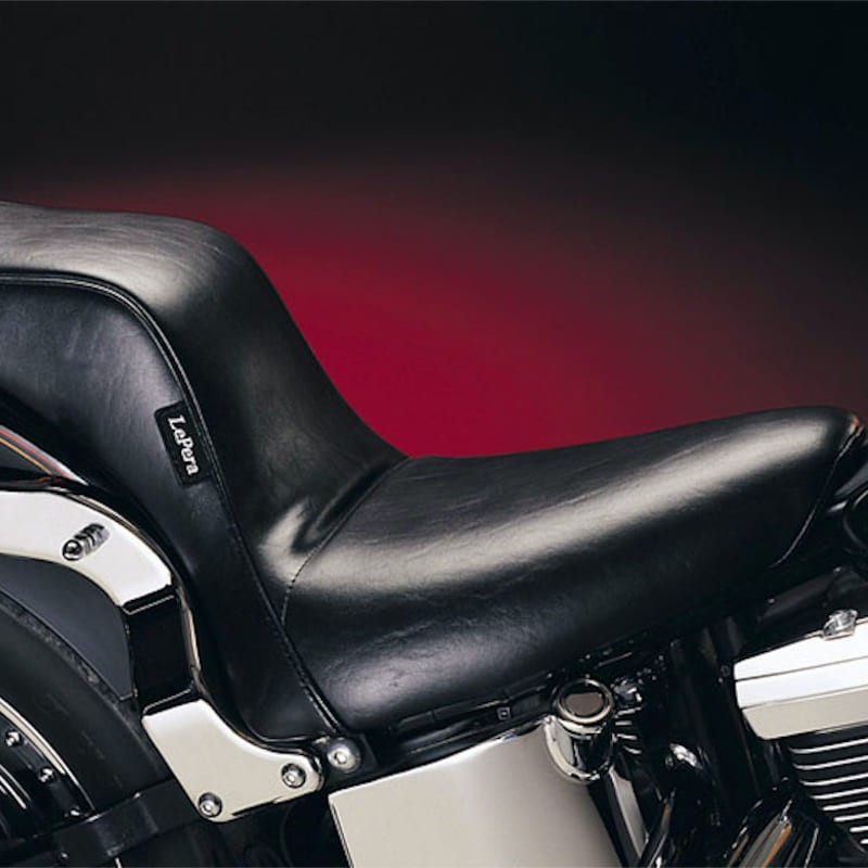LE PERA CHEROKEE 2 UP CUSTOM SMOOTH SEAT HARLEY SOFTAIL 00-17