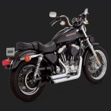 SCARICHI VANCE HINES SHORTSHOTS STAGGERED CROMO HARLEY SPORTSTER XL 99-03