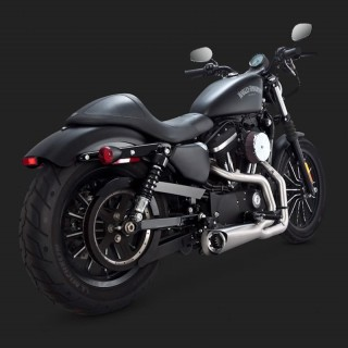 SCARICHI VANCE HINES COMPETITION SERIES 2 IN 1 INOX HARLEY SPORTSTER XL 14-20