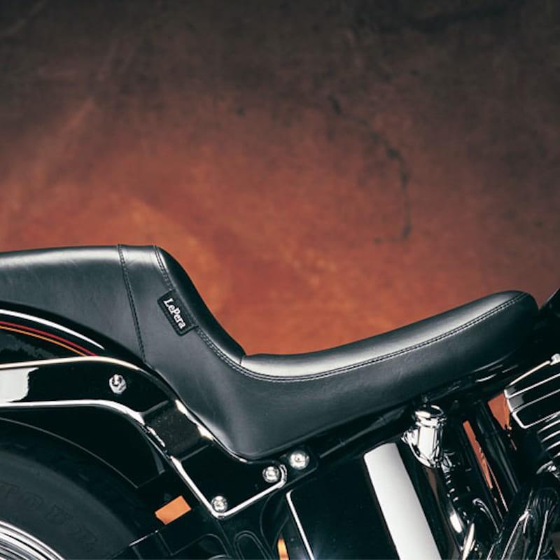 LE PERA DAYTONA FULL LENGTH SPORT SMOOTH SEAT HARLEY SOFTAIL 00-17