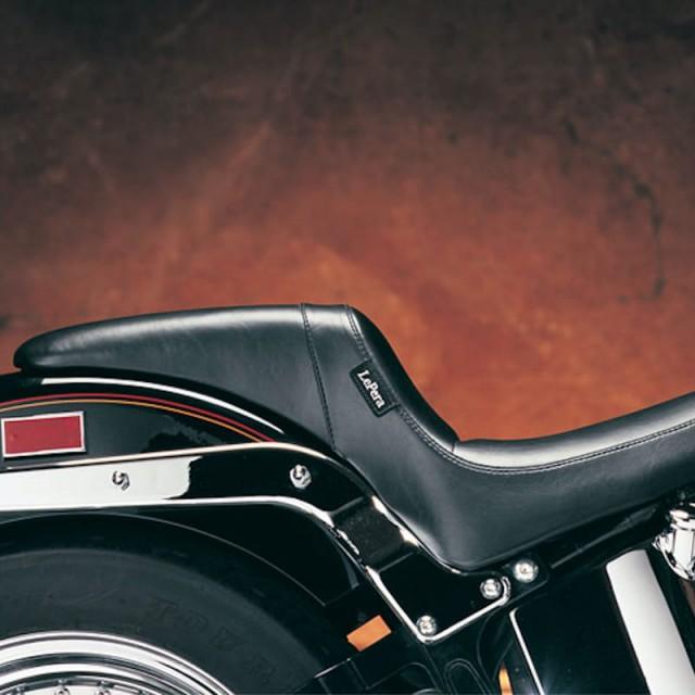 LE PERA DAYTONA FULL LENGTH SPORT SMOOTH SEAT HARLEY SOFTAIL 00-17 - SIDE