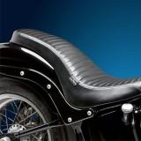 SELLA LE PERA COBRA PLEATED FULL LENGTH SEAT HARLEY SOFTAIL 06-17 - POSTERIORE