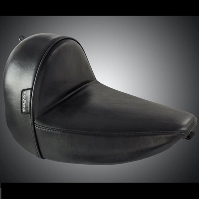 SELLA LE PERA STUBS CAFE SOLO SMOOTH SEAT HARLEY SOFTAIL SLIM 2016-2017