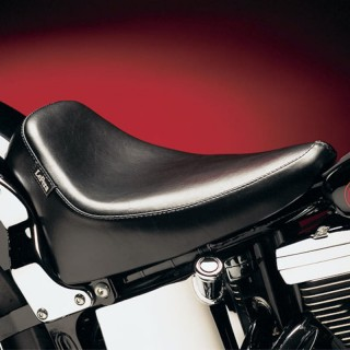 SELLA LE PERA SILHOUETTE DELUXE SOLO SMOOTH SEAT HARLEY SOFTAIL 08-17