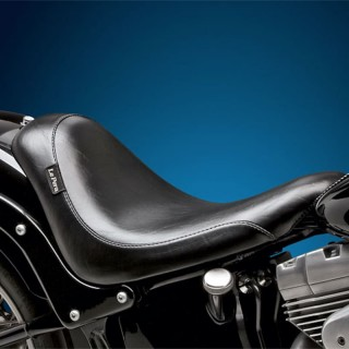 SELLA LE PERA SILHOUETTE SOLO SMOOTH SEAT HARLEY SOFTAIL 06-17
