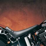 SELLA LE PERA SILHOUETTE SMOOTH SOLO SEAT HARLEY SOFTAIL 00-07 - LATO