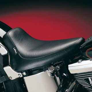 LE PERA SILHOUETTE SMOOTH SOLO SEAT HARLEY SOFTAIL 00-07