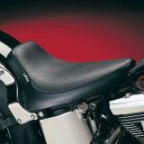 SELLA LE PERA SILHOUETTE BASKET WEAVE SOLO SEAT HARLEY SOFTAIL 00-07