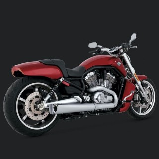 VANCE HINES COMPETITION SERIES MUFFLERS SLIP-ONS HARLEY V-ROD 09-17