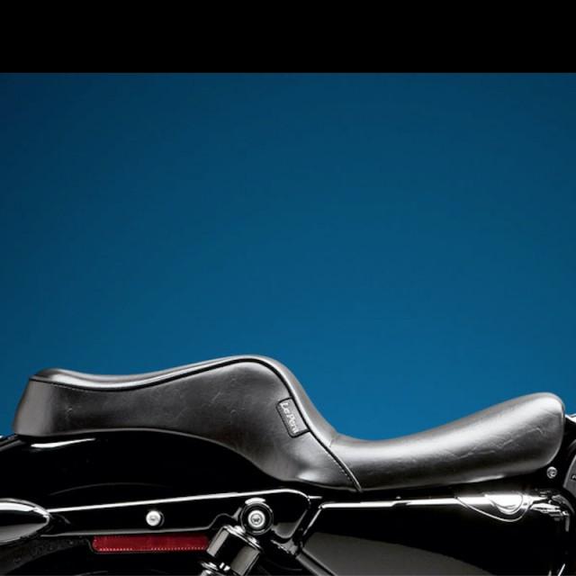 SELLA LE PERA CHEROKEE 2 UP CUSTOM SMOOTH SEAT HARLEY SPORTSTER XL 2004-2020