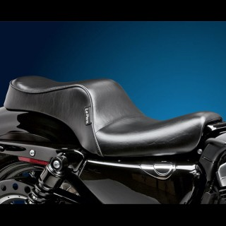 SELLA LE PERA CHEROKEE 2 UP CUSTOM SMOOTH SEAT HARLEY SPORTSTER XL 2004-2021