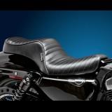 LE PERA CHEROKEE 2 UP CUSTOM PLEATED SEAT HARLEY SPORTSTER XL 04-19