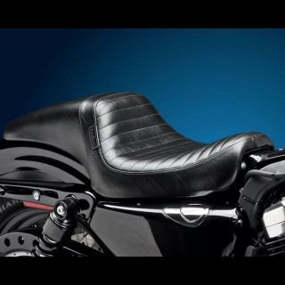 SELLA LE PERA DAYTONA FULL LENGTH PLEATED SEAT HARLEY SPORTSTER XL 04-19