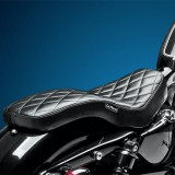 SELLA LE PERA COBRA DIAMOND FULL LENGTH SEAT HARLEY SPORTSTER XL 04-19 - RETRO