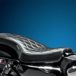 LE PERA COBRA TWO UP DIAMOND SEAT HARLEY SPORTSTER XL 04-21