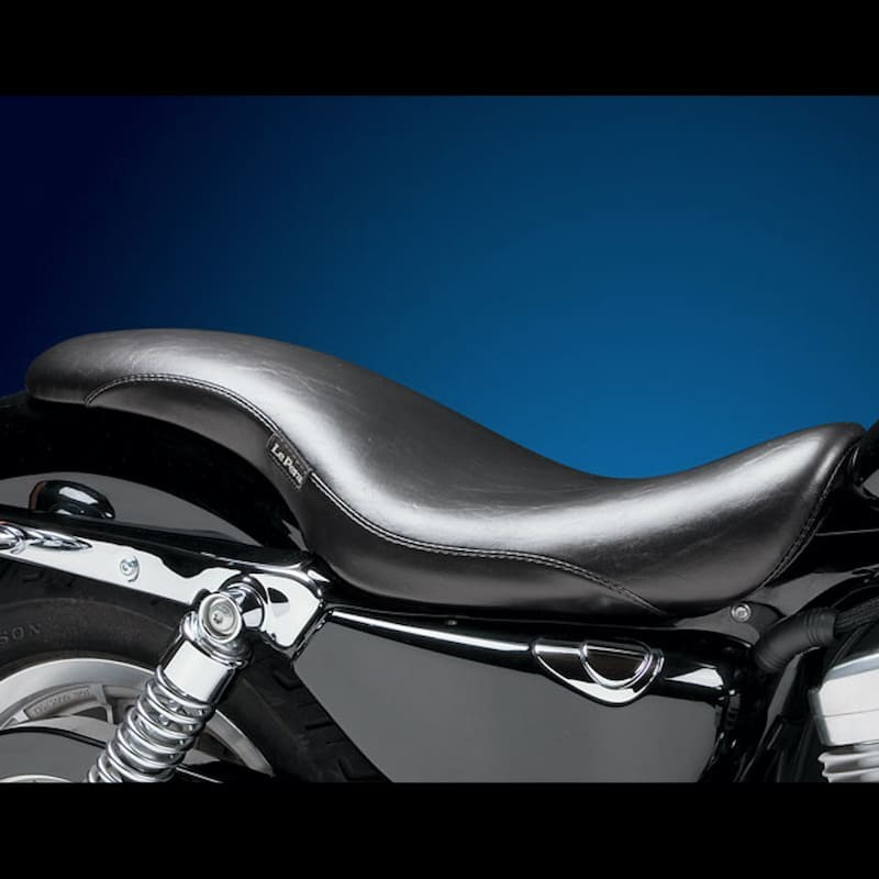 LE PERA KING COBRA SMOOTH FULL LENGTH SEAT HARLEY SPORTSTER XL 04-21