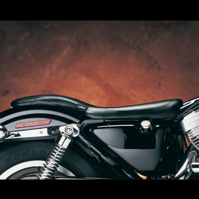 SELLA LE PERA KING COBRA SMOOTH TWO UP SEAT HARLEY SPORTSTER XL 86-03