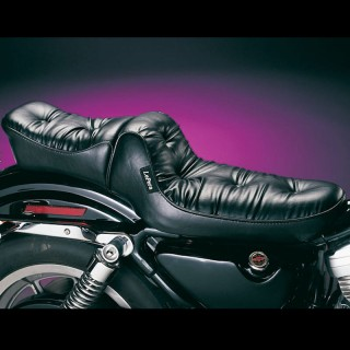 SELLA LE PERA REGAL TWO UP PLUSH PILLOW SEAT HARLEY SPORTSTER XL 86-03