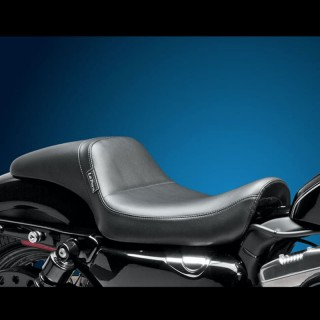 LE PERA DAYTONA LONG LEGS SMOOTH SEAT HARLEY SPORTSTER XL 04-19