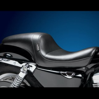 LE PERA DAYTONA SPORT FULL LENGTH SMOOTH SEAT HARLEY SPORTSTER XL 04-21 3,3 GALL TANK