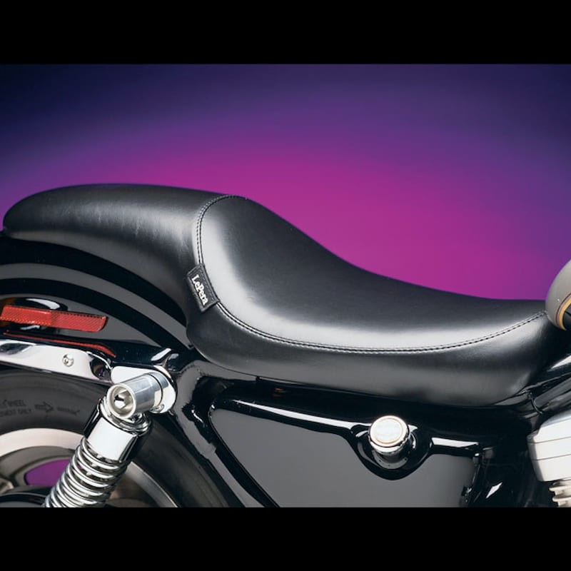 LE PERA SILHOUETTE FULL LENGTH SMOOTH SEAT HARLEY SPORTSTER XL 82-03