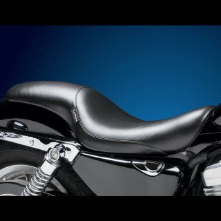 SELLA LE PERA SILHOUETTE FULL LENGTH SMOOTH SEAT HARLEY SPORTSTER XL 07-09