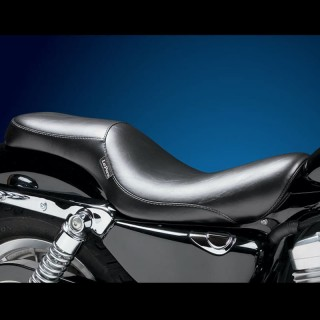 SELLA LE PERA SILHOUETTE LT SMOOTH 2 UP SEAT HARLEY SPORTSTER XL 07-09 3,3 TANK