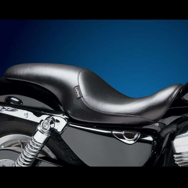 LE PERA SILHOUETTE SMOOTH UP FRONT SEAT HARLEY SPORTSTER XL 07-20 3,3 TANK
