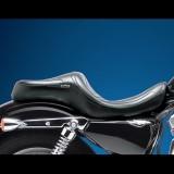 SELLA LE PERA MAVERICK TWO UP SMOOTH SEAT HARLEY SPORTSTER XL 04-19 17 LITRI - LATO