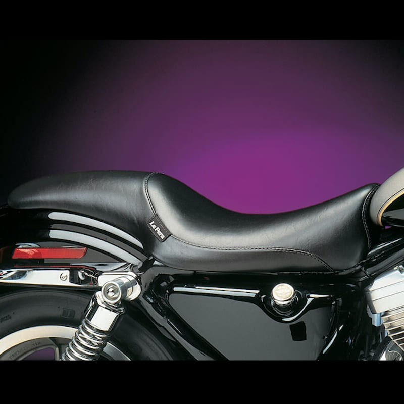 LE PERA SILHOUETTE LT FULL LENGTH SMOOTH SEAT HARLEY SPORTSTER XL 86-03