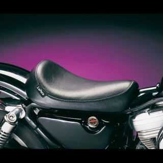 SELLA LE PERA SILHOUETTE SMOOTH SOLO SEAT HARLEY SPORTSTER XL 86-03