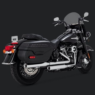TERMINALI VANCE & HINES ELIMINATOR 300 HARLEY SOFTAIL FAT BOB-DELUXE-HERITAGE 18-20