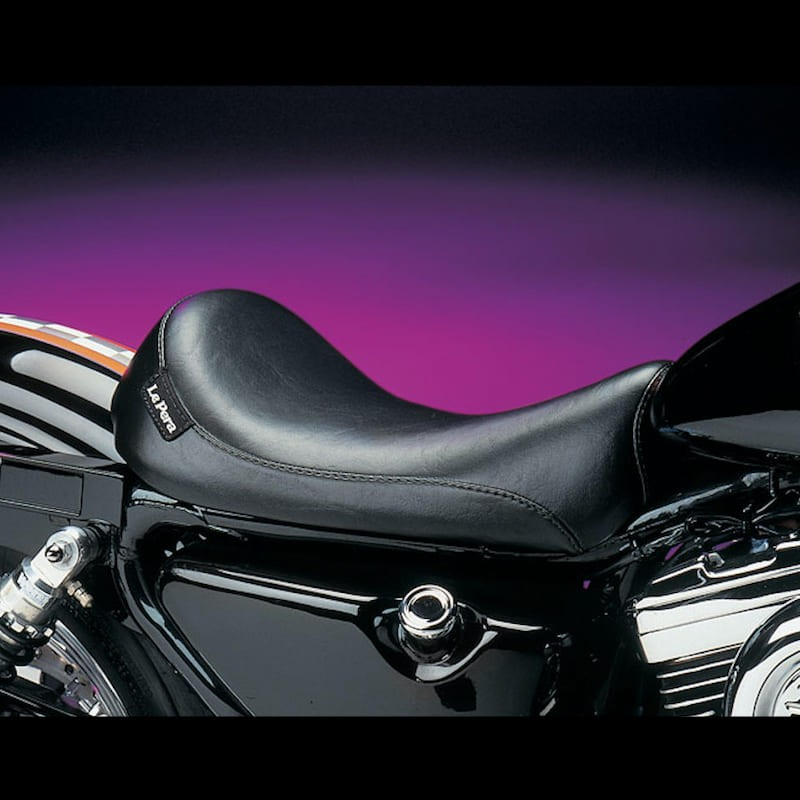 SELLA LE PERA SILHOUETTE LT SOLO SMOOTH SEAT HARLEY SPORTSTER XL 86-03