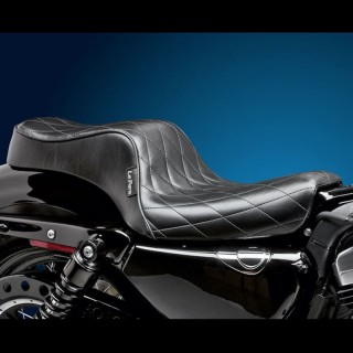 LE PERA CHEROKEE 2 UP CUSTOM DIAMOND SEAT HARLEY SPORTSTER XL