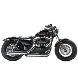 LE PERA BARE BONES SMOOTH SEAT HARLEY SPORTSTER XL 1200 10-20 - FORTY EIGHT