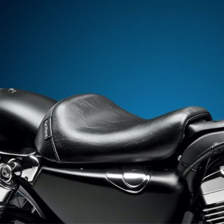 SELLA LE PERA BARE BONES SMOOTH SEAT HARLEY SPORTSTER XL 1200 10-19